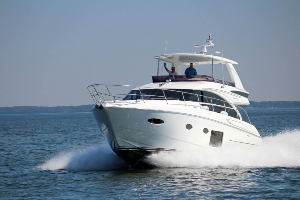 Cruising in Style Aboard a Princess V52
