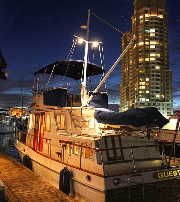 """Grand Banks """"Quest"""" at Trawler Fest"""