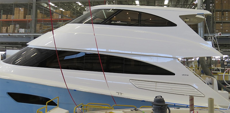 First Glimpse of the Viking 92 Convertible
