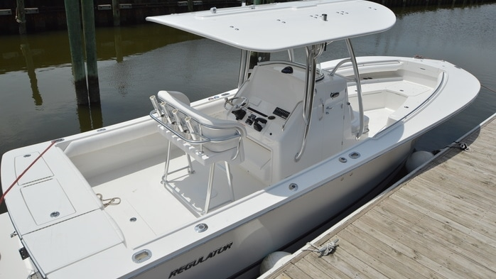 Just Delivered: Regulator 28 and 23 at our Wrightsville Beach Office
