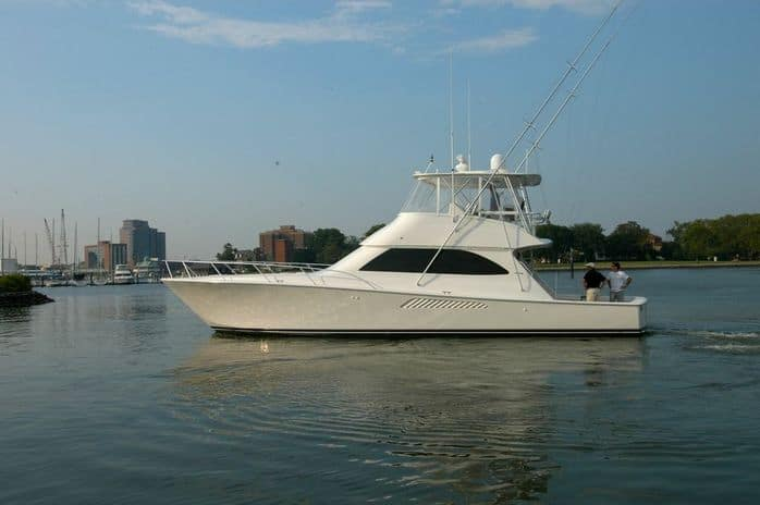 Longtime Bluewater Family Member Likes his Broker and his Viking Yachts