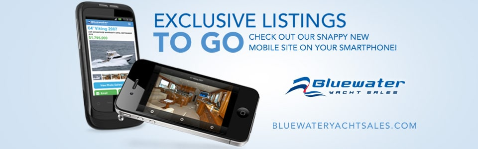 BluewaterYachtSales.com is Now Mobile Optimized