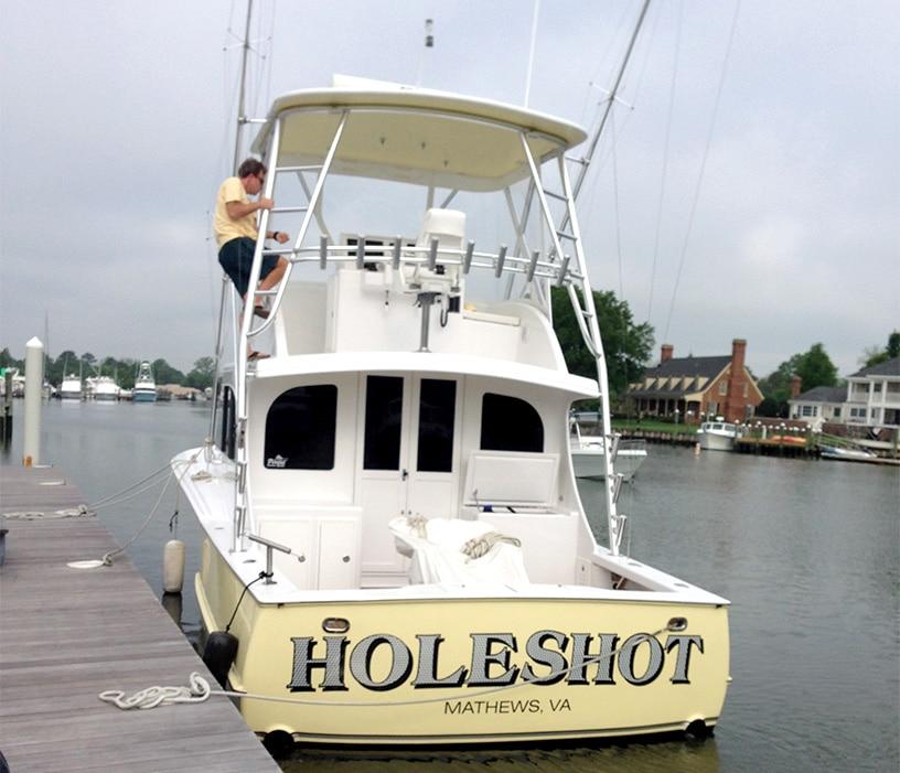Perdue Holeshot