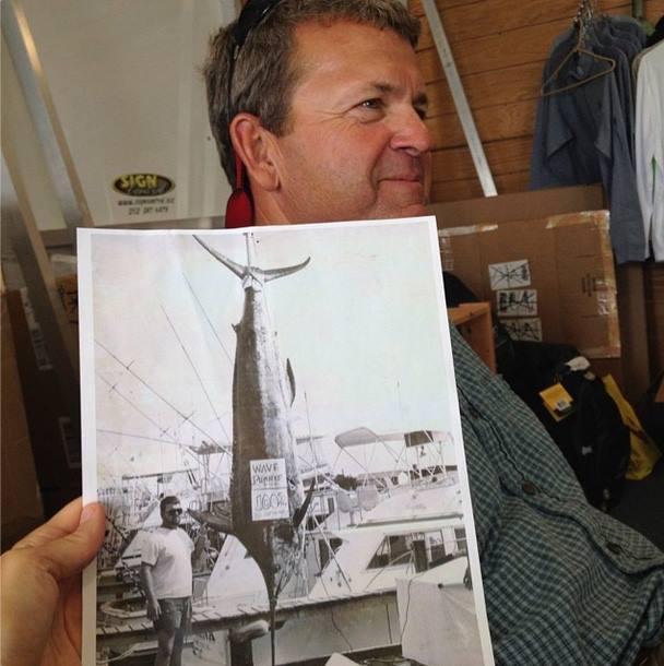 Captain Howard Basnight Still Holds the Blue Marlin Record