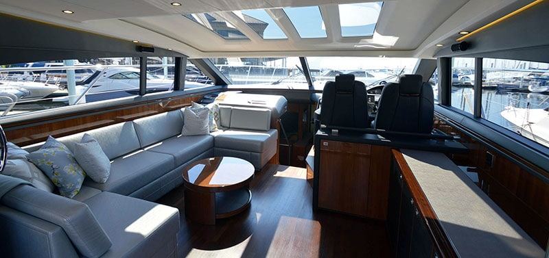 Tour the Princess V62-S at our Docks in Baltimore