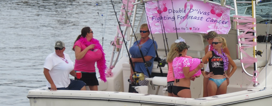 Wine, Women & Fishing for a Good Cause
