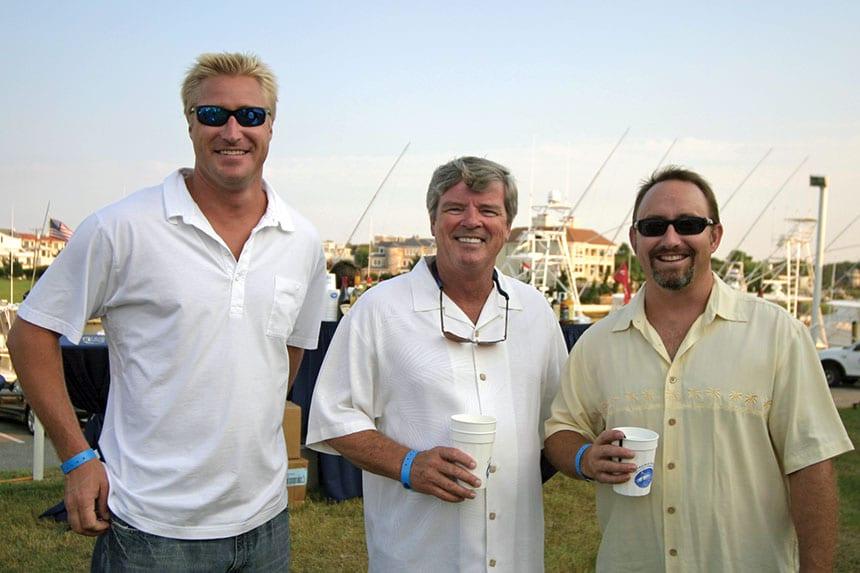 Matt Gunter, Charles Barker, Brian Foley