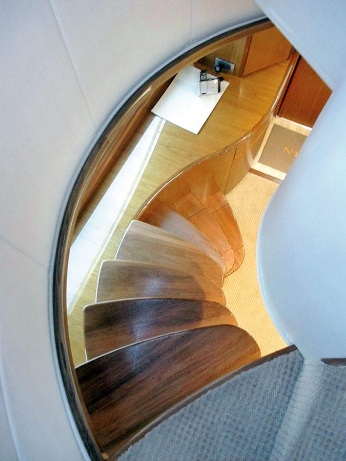 Viking 62 Custom Stairway