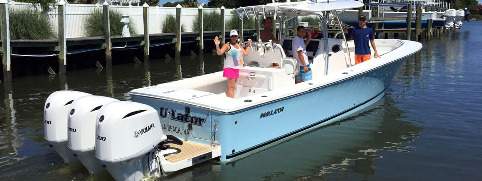 Triple Yamaha Regulator Finds Home in Virginia Beach