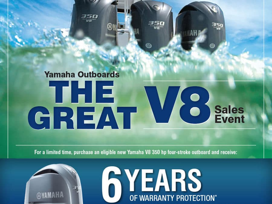 Double Up the Coverage on Your Yamaha V8 Outboard Now