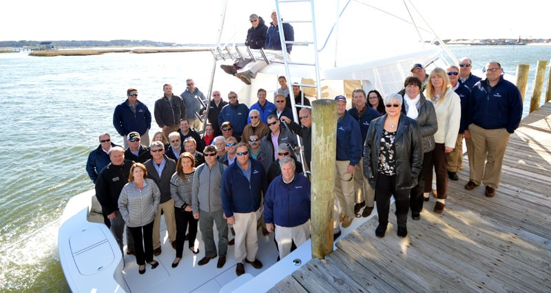 Bluewater Yacht Sales'Team Recognized for Exceptional Performance