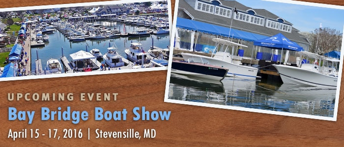 Bluewater at Bay Bridge Boat Show in Maryland