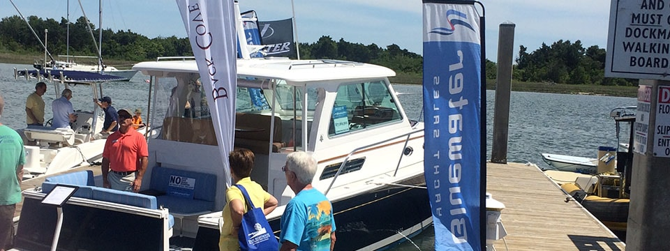 Bluewater on Display at the Crystal Coast Boat Show