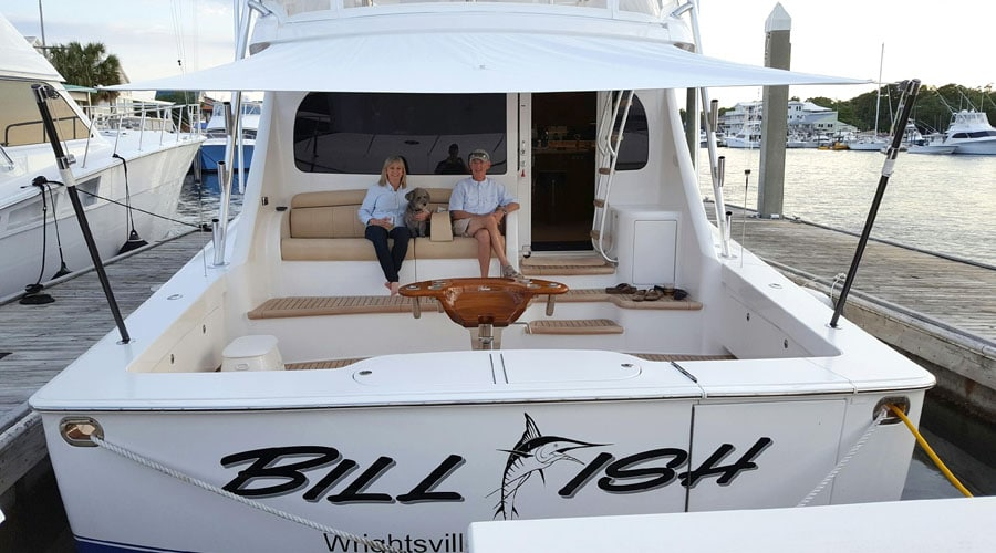 Taking Delivery of a new Viking 55