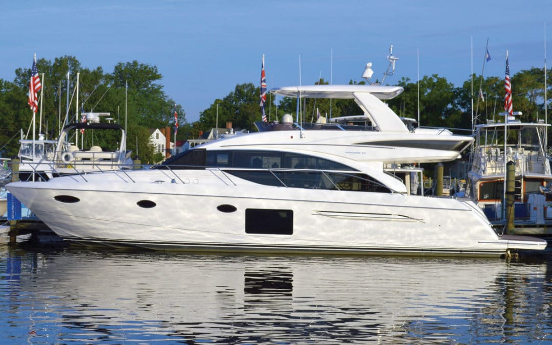 See the Princess 60FB in Baltimore