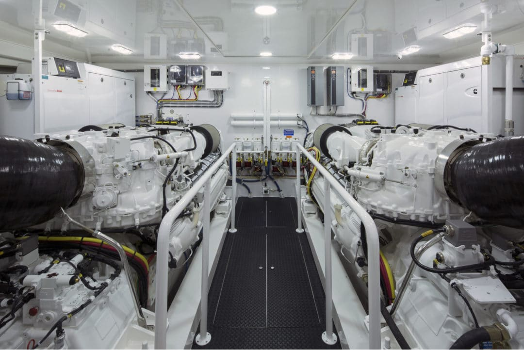 V-Viking 92 Engine Room