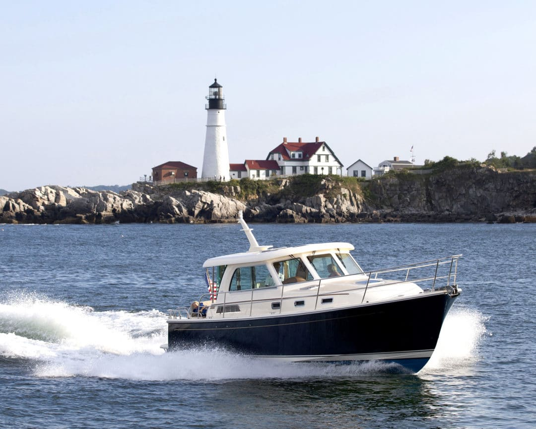 Sabre 38 in Portland Maine