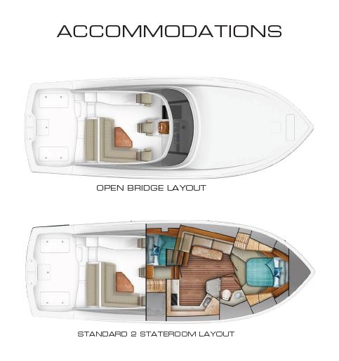 Viking 44 Open Layout