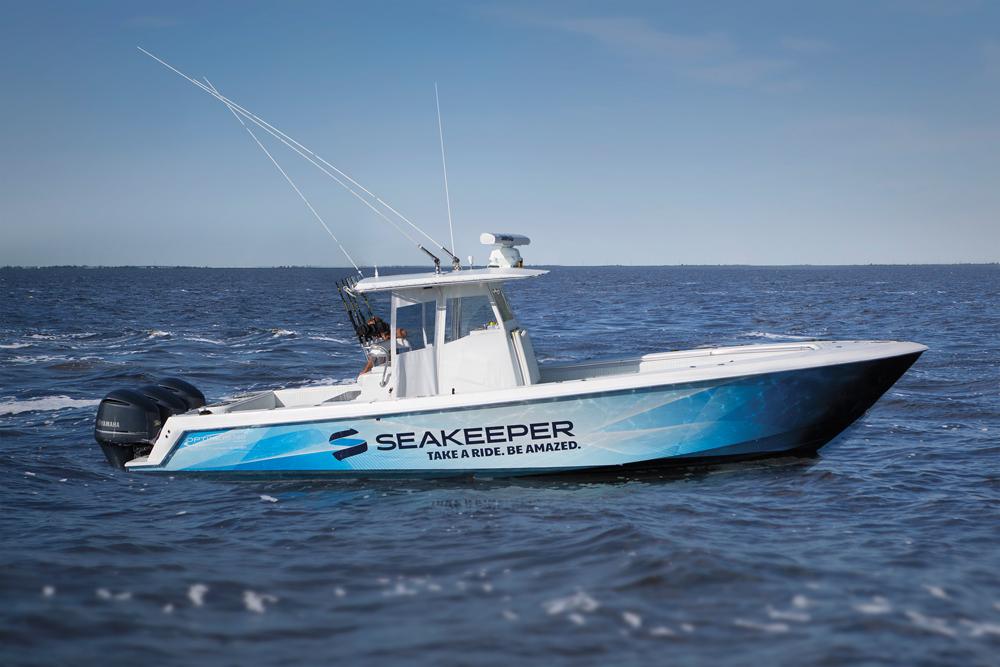 Seakeeper demo