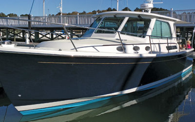 Hampton Couple Move Up to a Back Cove Yacht