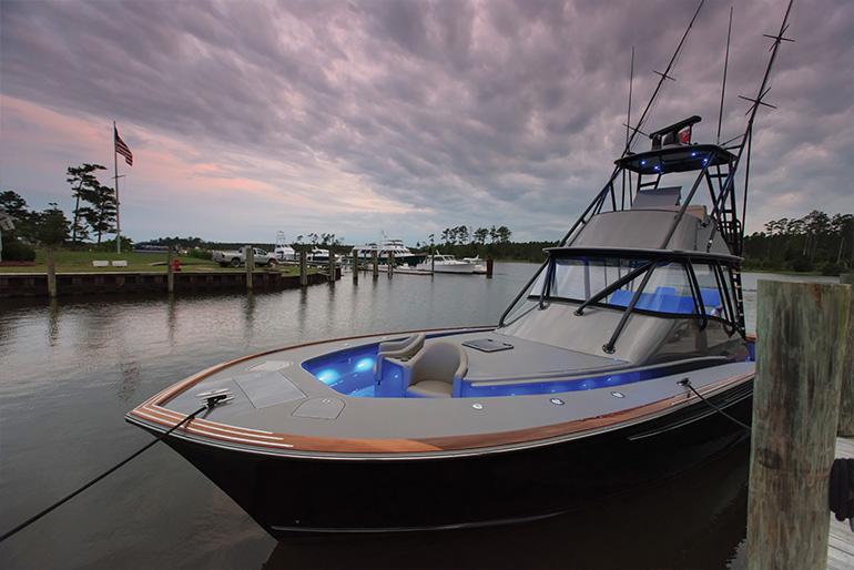 Grander docked
