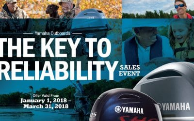 Get Your Keys to Reliability Now on any New Yamaha Powered Boat