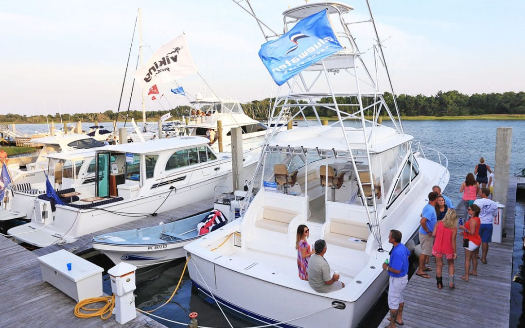 New Boats for Demo at Big Rock Tournament Pig Pickin'