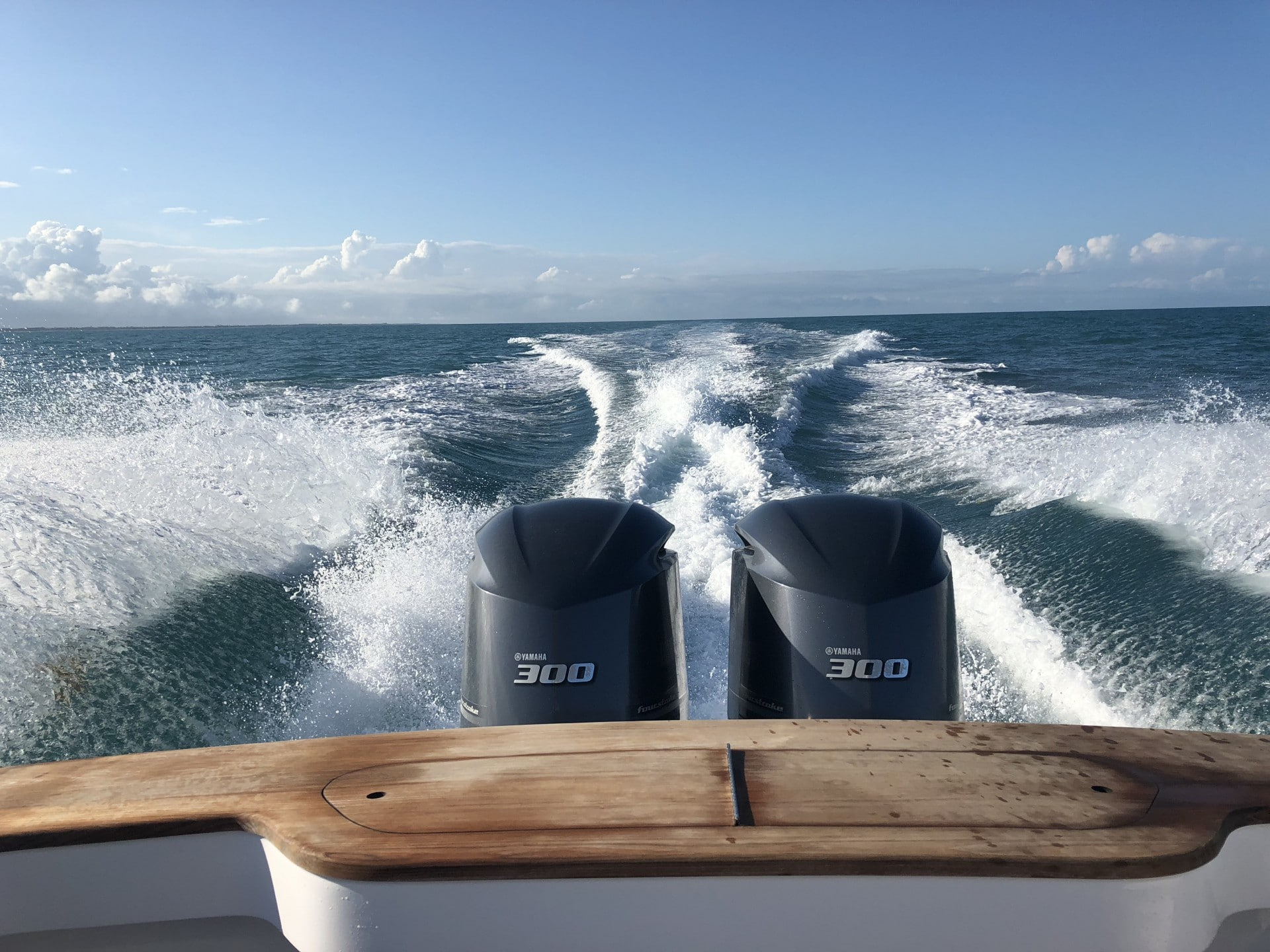 Jarrett Bay 32' Running off Jacksonville, Florida