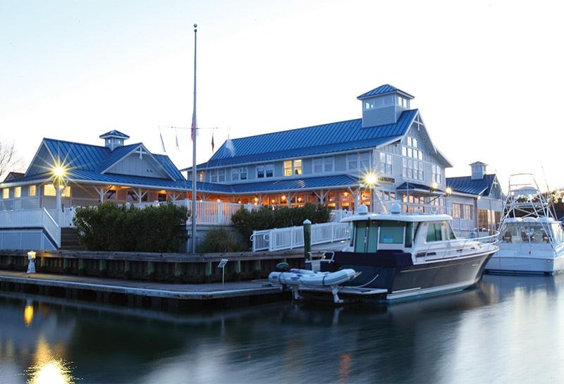 Bluewater Yachting Center in Hampton, Va