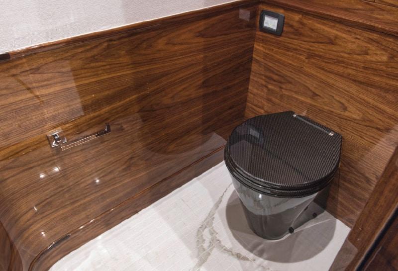 Carbon Fiber Toilet