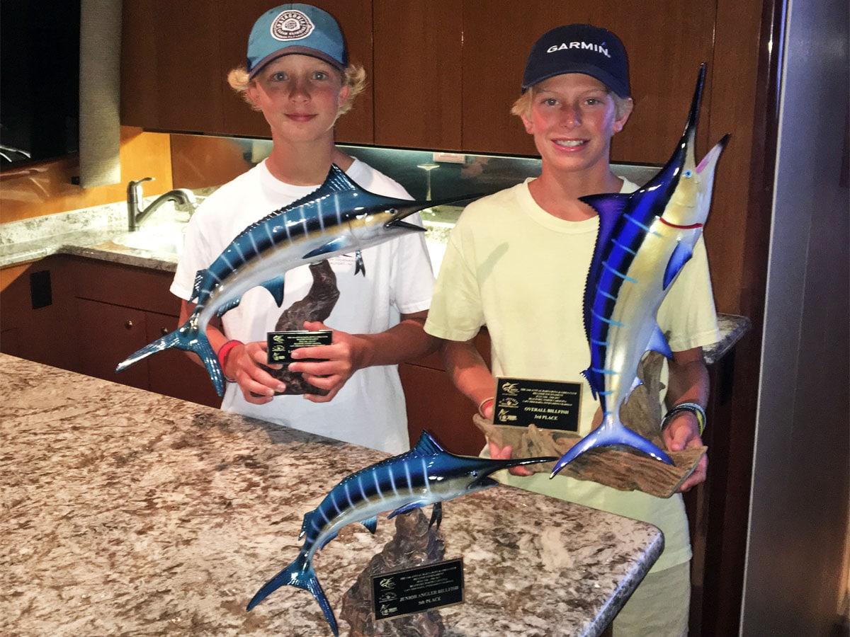 2017 Barta Billfish success