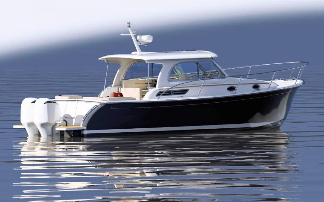 Back Cove Answers Demand with a New Outboard Powered 34