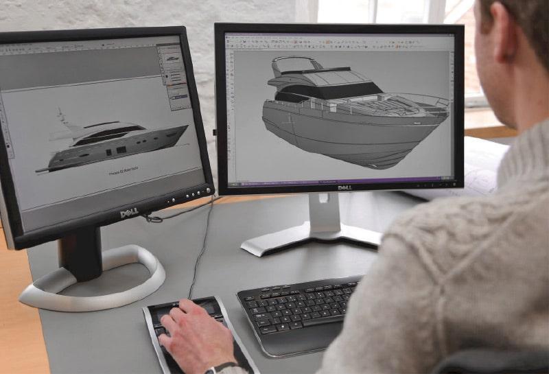 Princess-Yachts-Designing