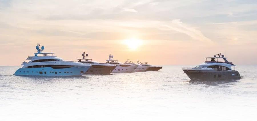 Princess-Yachts-M-Class-Sunset