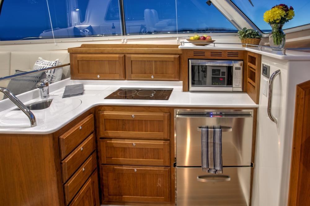 Back Cove 372 Galley
