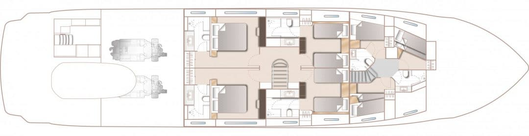 30m-layout-lower-deck-4-cabin