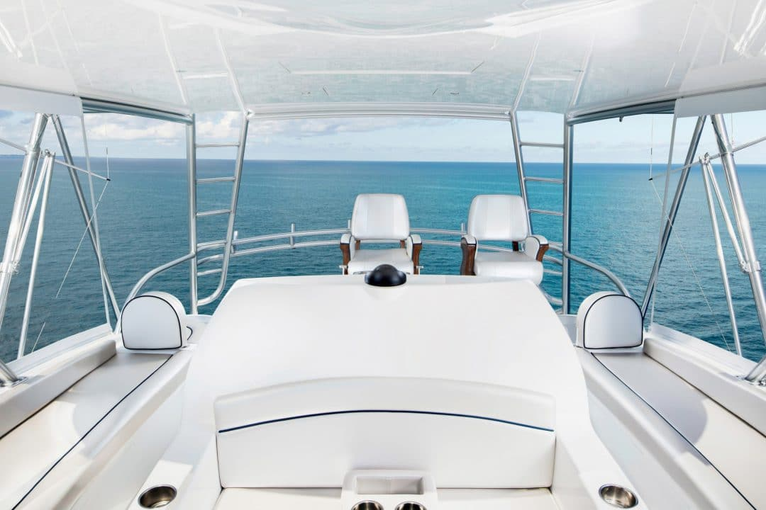 58C flybridge looking aft