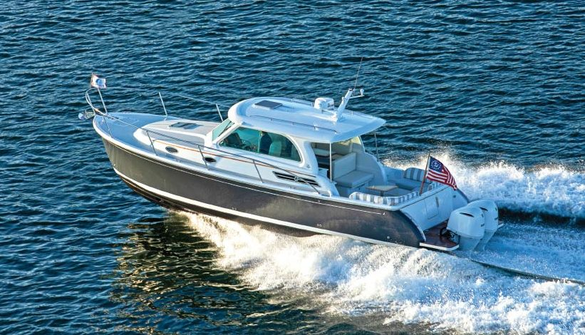 Back Cove Offers Outboard Power from a Clean-Sheet Design