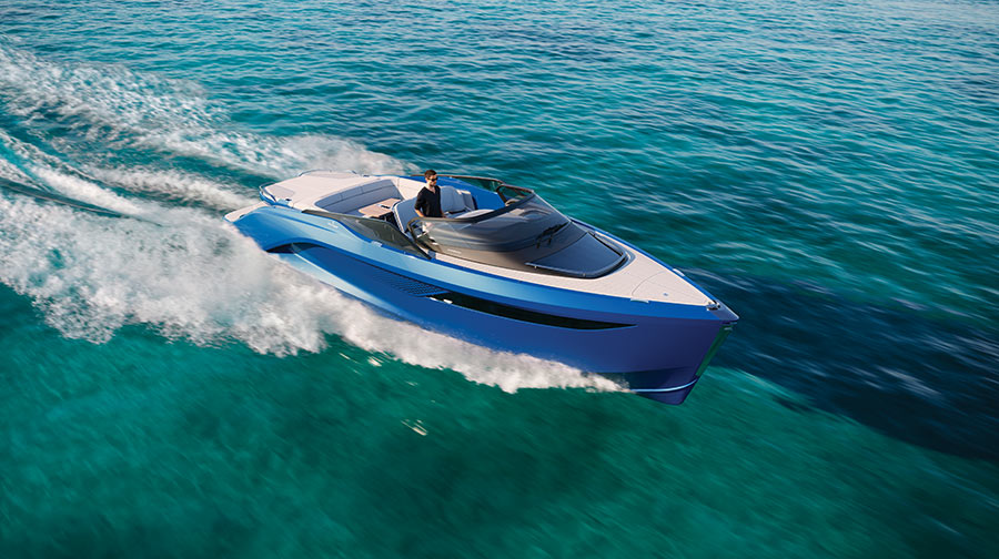 Collaboration between Princess Yachts, Pininfarina and BAR Technologies births the all-new R35