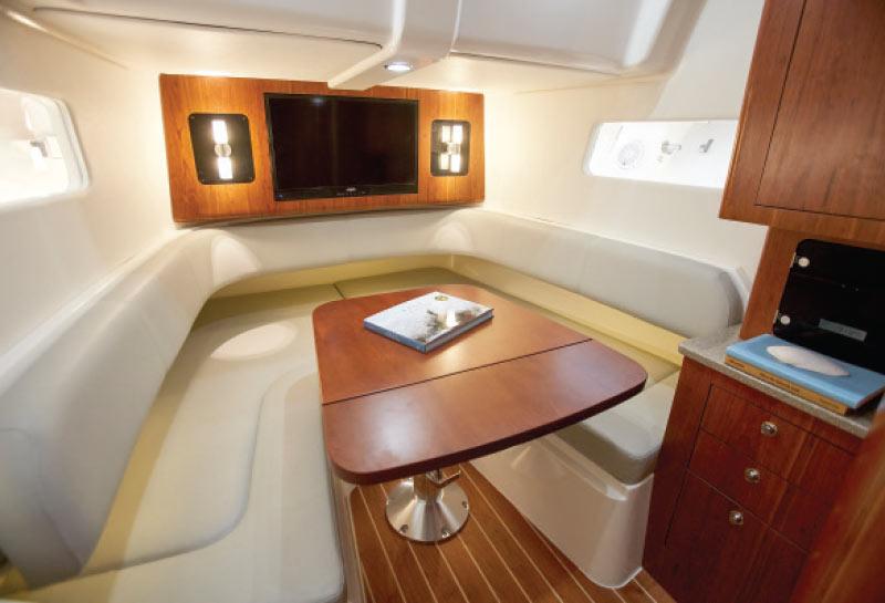 Regulator-41-Boat-Berth-Cabin