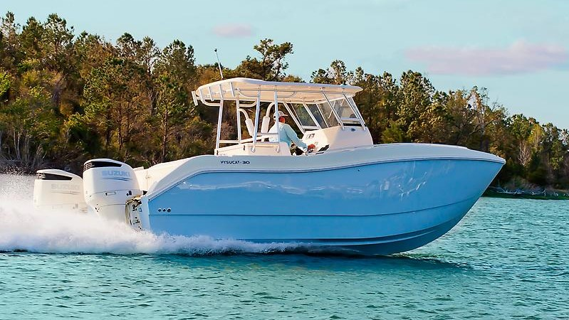 Viking 37 Billfish bridge