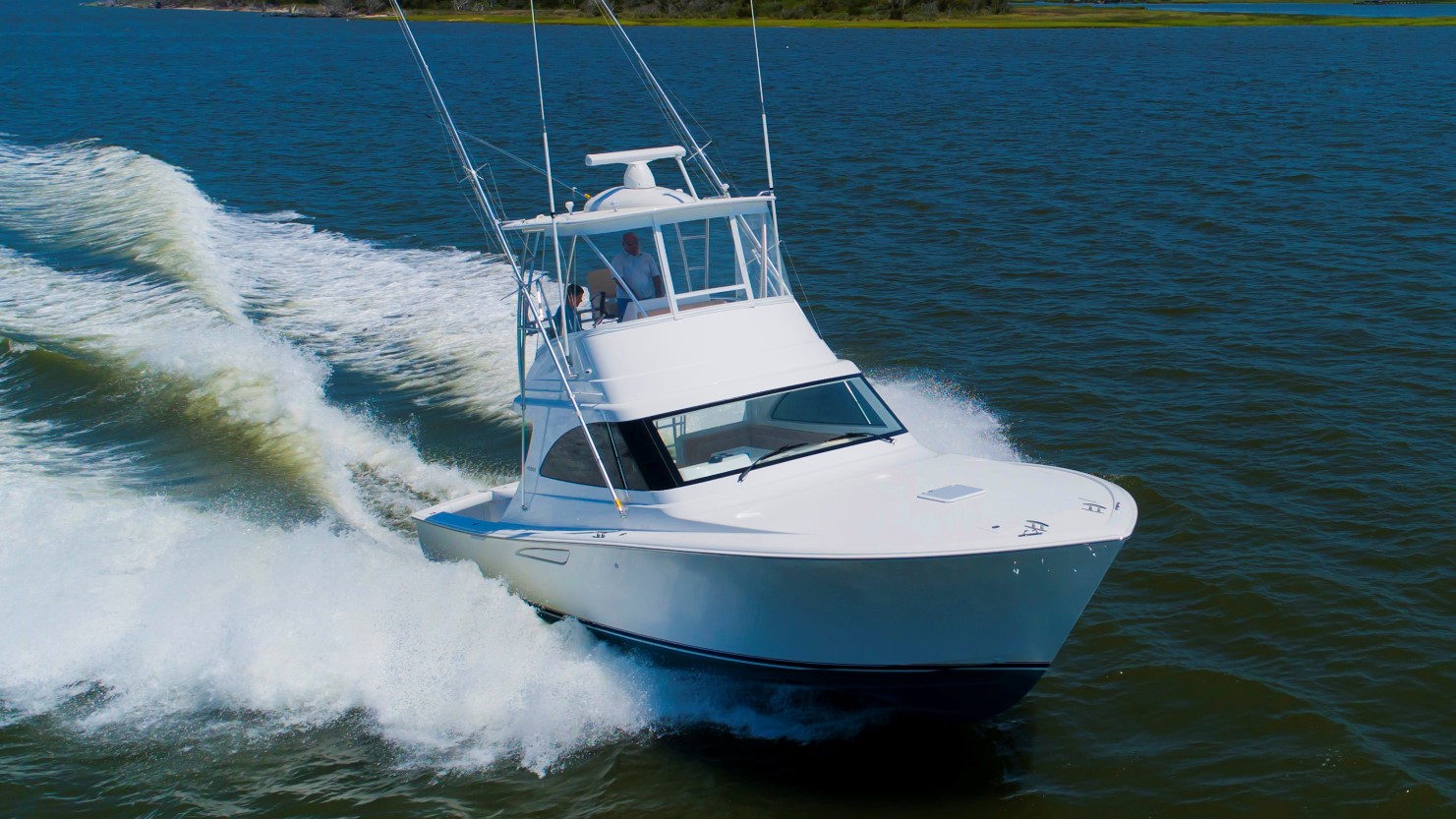 Viking 37 Billfish helm