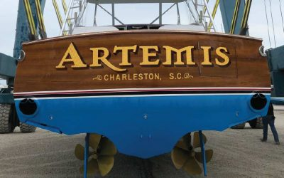 The Artemis is Rebuilt to the nines After a Sizzling Summer Incident
