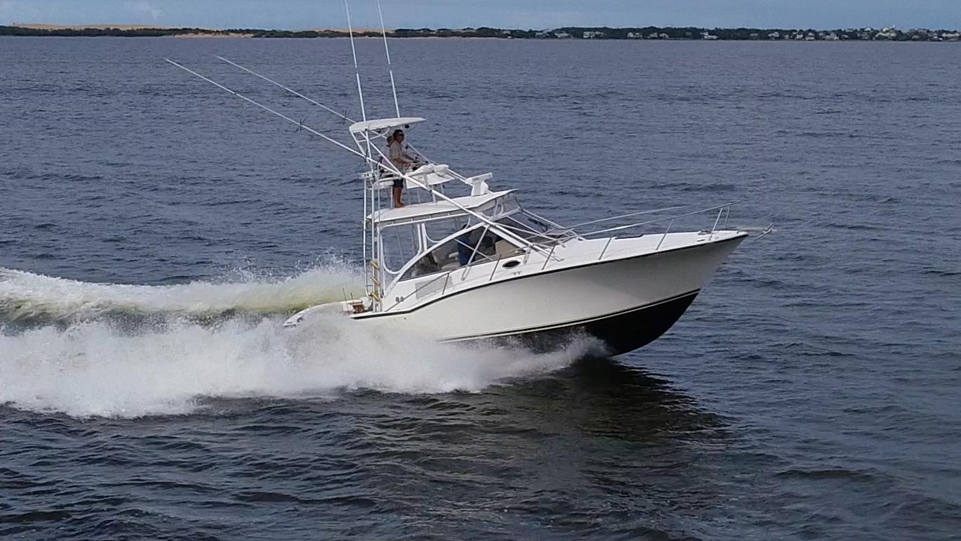 Viking 37 Billfish bridge