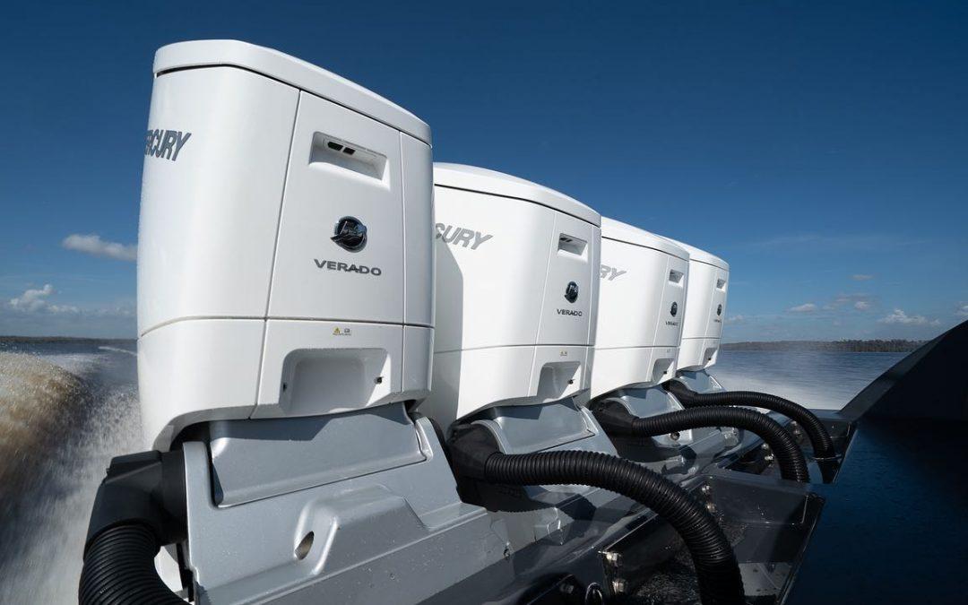 Mercury Unveils 600hp Verado Outboard