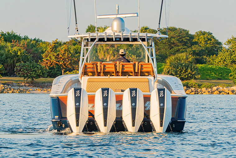 Quad Outboards
