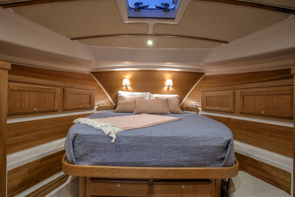 Back Cove 372 Master Stateroom