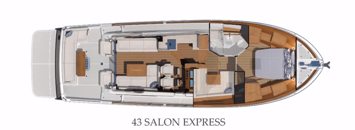 Sabre 43 Interior